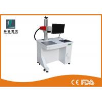 Buy cheap CNC Fiber Laser Marking Machine Air Cooled On Animal Cattle Ear Tag FDA Certification from wholesalers