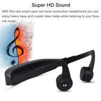 Buy cheap Wireless  Gym Waterproof bone conduction microphone bluetooth Headset for Sport from wholesalers