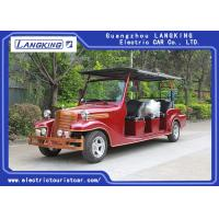Buy cheap Comfortable 8 Seater Classic Electric Vintage Cars Battery 6v*8pcs from wholesalers