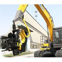 Buy cheap Diesel XCMG Forest Excavator 21ton Excavator Hydraulic Rotating Log Grapple XE210F from wholesalers
