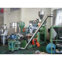 Buy cheap 185 KW Two Stage PVC Plastic Pelletizing Line 60rpm , Pellet Maker Machine from wholesalers