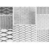 Buy cheap Perforated Stainless Steel / Aluminum Expanded Metal Mesh, Wire Netting For Construction from wholesalers