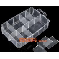 Buy cheap Multipurpose Collapsible Storage Box Transparent Plastic Drawer Storage Box, plastic storage boxes, box plastic, plastic from wholesalers