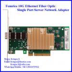 Buy cheap 10Gbps Ethernet Fiber Optic Single Port Server Application NIC SFP+ Network Adapter, SFP+ Slot from wholesalers