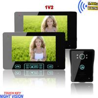 Buy cheap long working life abrasion resistant wireless peephole colour video door phone from wholesalers