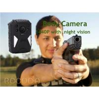 Buy cheap IP68  Night Vision GPS WIFI RECODA 4G Body Camera 1440P With 140° View Angle from wholesalers