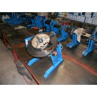 China Manual Pipe Welding Positioners Table With Hand Wheel 0 - 90dgr Tilting on sale