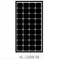 Wholesale Roof 120 Watt Mono Crystal Solar Panel , Monocrystalline PV Panels Solar Power from china suppliers