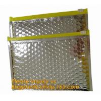 Buy cheap Promotional inner package shipping slider bubble bag,Plastic clear bubble bag with zip lock slider zipper bagease pack from wholesalers