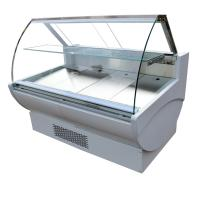Buy cheap 900mm Depth Slim Design Deli Meat Display Case For Butchery Shops Fan Cooling from wholesalers