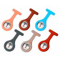 Buy cheap Flexible Colorful Silicone Nurse Watch Soft Silicone Strap ROHS from wholesalers
