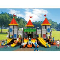 China outdoor playground equipment, plastic playground slide, childrens outdoor playsets on sale