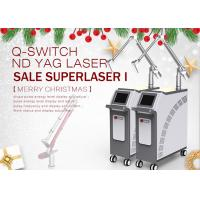 Buy cheap Long Pulsed Q Switched Nd Yag Laser Tattoo Melasma Removal Carbon Peeling from wholesalers