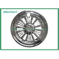 Buy cheap Durable Silver 10 Inch Golf Cart Hub Caps Golf Cart Parts 31 X 24.4 X 24.4 Cm from wholesalers