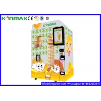Buy cheap Wifi Control System Orange Juice Vending Machine Business Apple Pay Credit Card Payment from wholesalers
