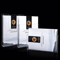 Buy cheap OEM Acrylic Brochure Holders ,  Wall Mounted Plastic 1/3 A4 Leaflet Holder from wholesalers