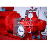 China Ductile Cast Iron Electric Motor Driven Fire Pump For Highway Tunnels / Subway Stations on sale