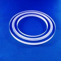 Buy cheap High Durability Quartz Tube Heating Element / Clear Vertical Tube Flange from wholesalers
