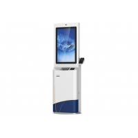 Buy cheap Self-service payment kiosk with cash payment and card dispenser POS from wholesalers