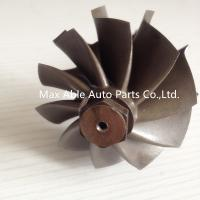 Buy cheap GT35 journal bearing turbine shaft 62.35X68mm 134mm length from wholesalers