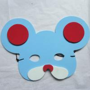 Halloween Christmas Children Cartoon EVA Forest Animal Mouse Mask Manufactures