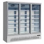 Buy cheap Plug In Swing Glass Door Merchandiser Freezer With LED Lighting Custom Color from wholesalers