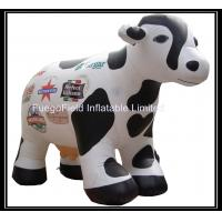 Buy cheap Fast Inflating Waterproof Inflatable Cow Balloon With Advertising Logo from wholesalers