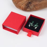 Wholesale Drawer Shape Spot Goods Velvet Inner Kraft Paper Jewelry Shipping Boxes from china suppliers