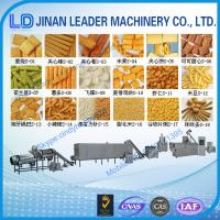Buy cheap Puffed snack food processing machine extruder making machine factory price from wholesalers