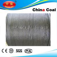 Wholesale Stainless, PVC Coated / galvanized, ungalvanized steel wire rope from china suppliers