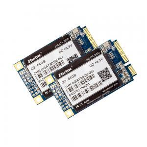 256GB Industrial mSATA Internal 30 * 50mm RoHS FCC DC 3.3V Q2