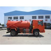 Buy cheap 10m3 Tank Capacity Special Purpose Truck / Sewer Vacuum Truck 16000 Kg Rated Payload from wholesalers