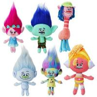 12inch Lovely New Trolls Cartoon Stuffed Plush Toys For Selling Manufactures