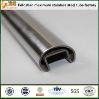 China 15*15mm Sizes product STS316 slot stainless tube on sale