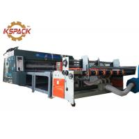 Buy cheap Carton Corrugated Box Printing Machine , Corrugated Box Making Printing Machine with Auto Feeder from wholesalers