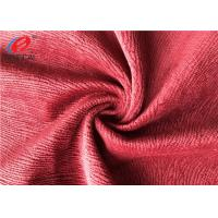 Wholesale Burnout Polyester Brushed Velboa Fabric , Velvet Sofa Fabric Warm Keeping Performance from china suppliers