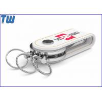 Buy cheap USB 2.0 UDP Leather Keychain Flash Memory Drive 32GB USB Flash Drive from wholesalers