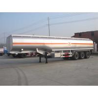 Buy cheap 38000 Liters Fuel Stainless Steel Tanker Trailers For Loading Liquid 5 Compartments from wholesalers