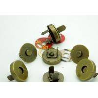 Bronze Magnetic Snaps Bag Purse Clasp Metal Button Fastener Sewing Craft 14mm Manufactures
