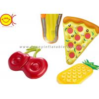 Buy cheap 160cm 63inch Inflatable Cherry Pool Float Swimming Pool Inflatable Cherry Pie Slice Float from wholesalers