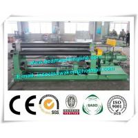 Mechanical Steel Plate Bending Machine , Hydraulic Steel Sheet Rolling Machine CE ISO Manufactures