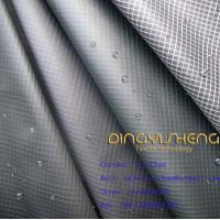Buy cheap Waterproof polyester fabric checks style from wholesalers