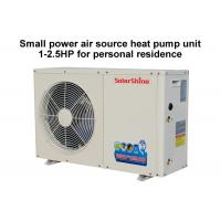 Wholesale 220 V Residential Heat Pump System , Split System Heat Pump Easy Maintenance from china suppliers