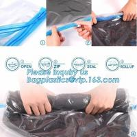 Buy cheap PA ziploc space bag for travel, vacuum pack mattress bag, vacuum plastic storage bags, vacuum quilt packing bags, flat v from wholesalers