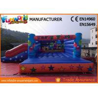 Wholesale Waterproof Inflatable Jumping Bounce With Slide For Playground / Theme Park from china suppliers
