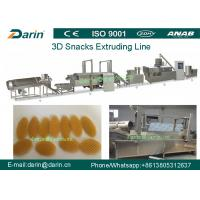 China 3D Snack Pellet Machinery / Single Screw Snack Extruder Machine for 3D Pellets on sale