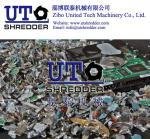 Buy cheap E scrap hard drives shredder 2 shaft intelligent low noise shredder/crusher/E-waste cutting machine/hard disk shredder from wholesalers