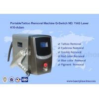 Buy cheap Portable Q - Switch Laser Tattoo Removal Machine Powerful 500-1000V from wholesalers