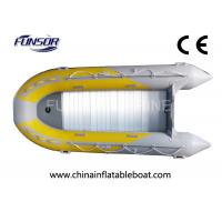 Buy cheap EU CE approved Foldable Inflatable Boat with motor for fishing from wholesalers
