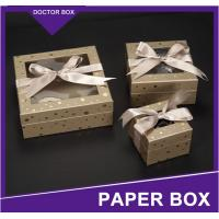 Buy cheap Custom Luxury Design Small Paper Wedding Door Gift Box/Valentine'S Day Souvenirs Wedding C from wholesalers